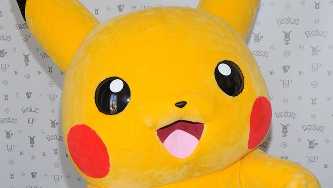 A Pikachu doll is displayed in West Hollywood, Calif., in February.