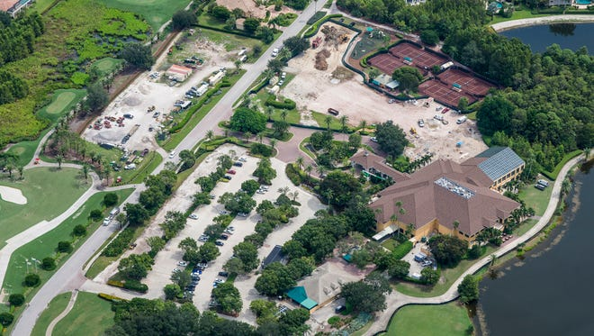GATES Construction has begun Phase 2 clubhouse renovations at Quail West.