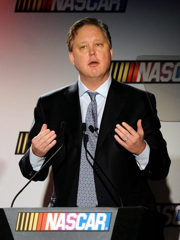 NASCAR CEO Brian France said the organization wanted