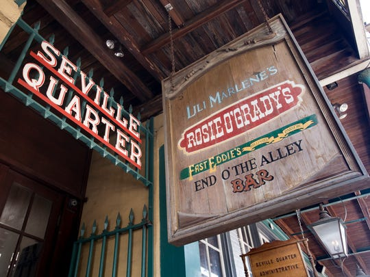 Rosie O'Grady's and Seville Quarter in Pensacola on