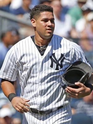 New York Yankee  Gary Sanchez.