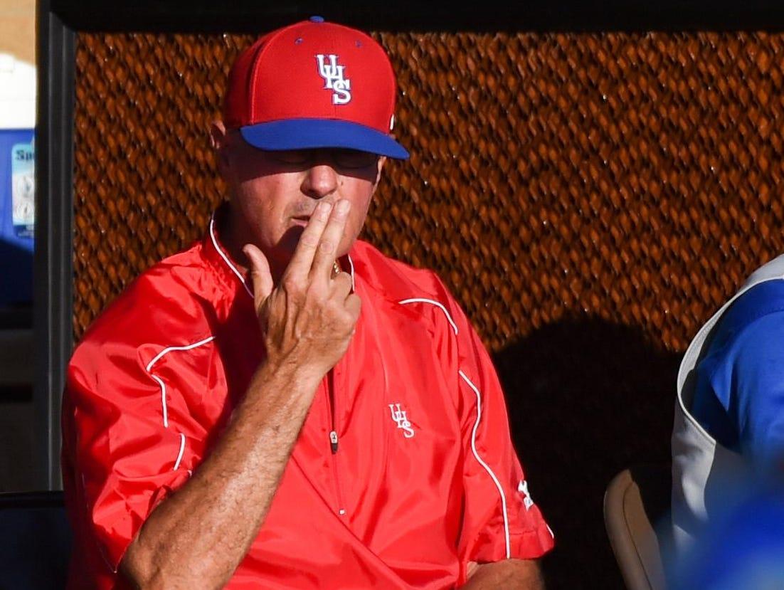 Longtime Urbandale High School baseball coach Denny Barton won 776 games in 32 seasons coaching the J-Hawks