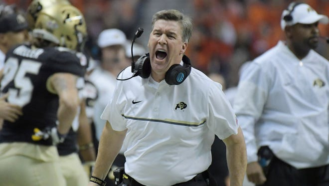 CU football coach Mike MacIntyre is on the USA Today top 10 preseason coaches on the hot seat list entering this season.