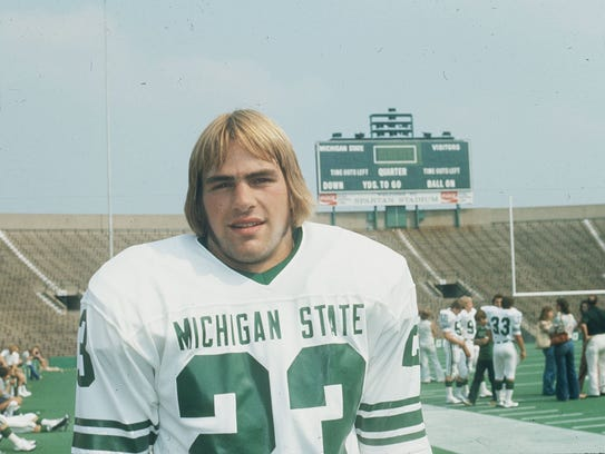 Kirk Gibson was first-team All America as an MSU wide