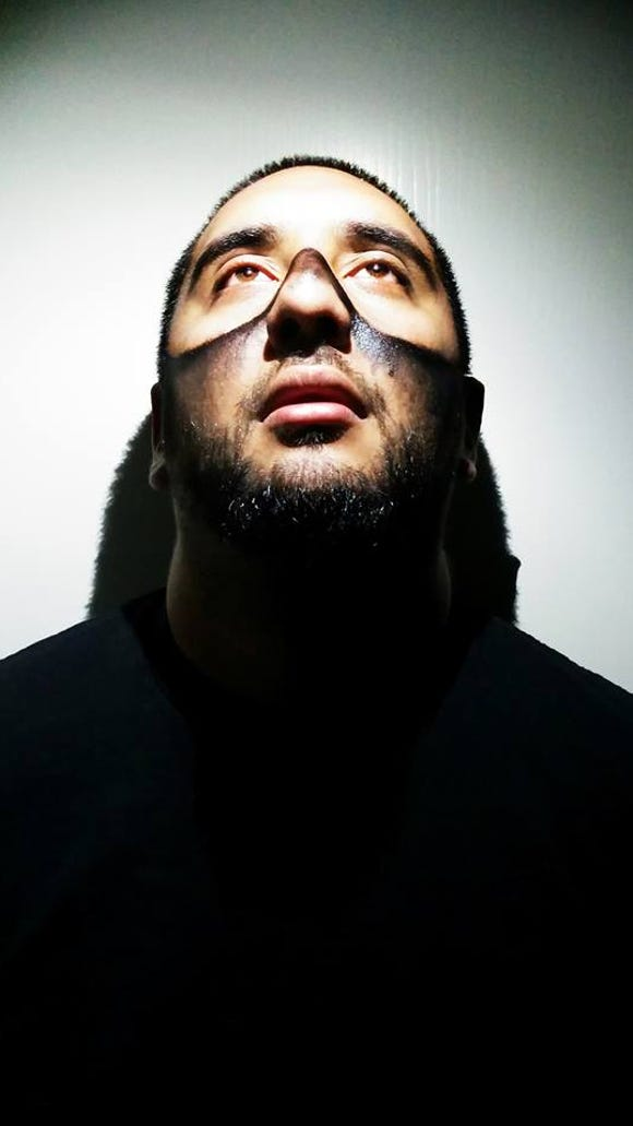 Chris Martinez, aka K Death, is the vocalist for noise rap group Moodie Black.
