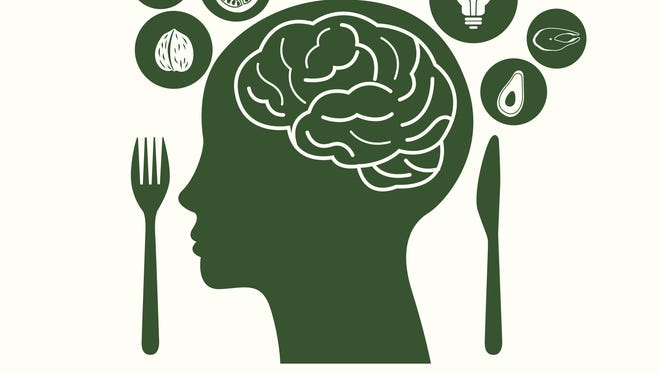 The food we eat affects our mood.