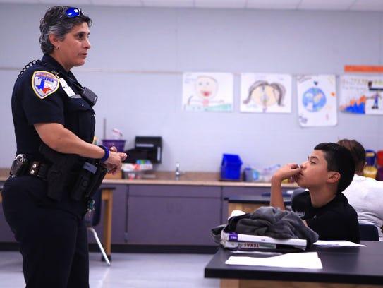 Corpus Christi Independent School District Police Sgt.