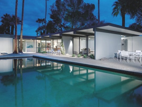 This midcentury masterpiece was designed by architect Donald Wexler for him and his growing family back in 1955.