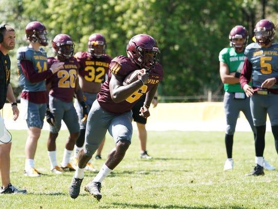 ASU freshman Eno Benjamin may have worked his way out