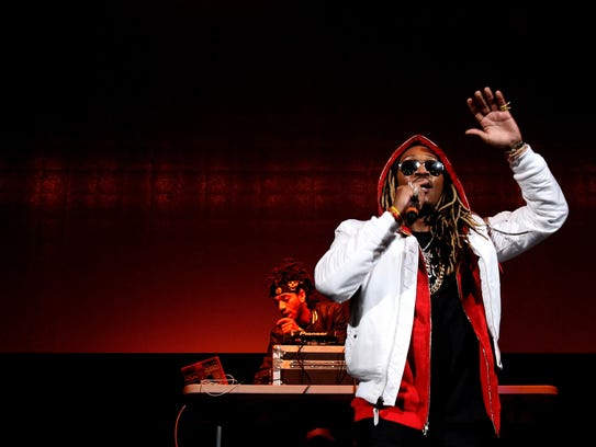 Future performs onstage during 105.1's Powerhouse 2015