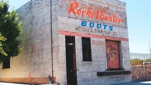 Rocketbuster Boots, known for making custom boots for celebrities across the nation, plans to remake the facade of its Downtown shop.