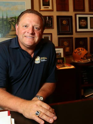 Toscana Country Club general manager Paul Levy talks about his role on the PGA's Ryder Cup task force on Thursday.