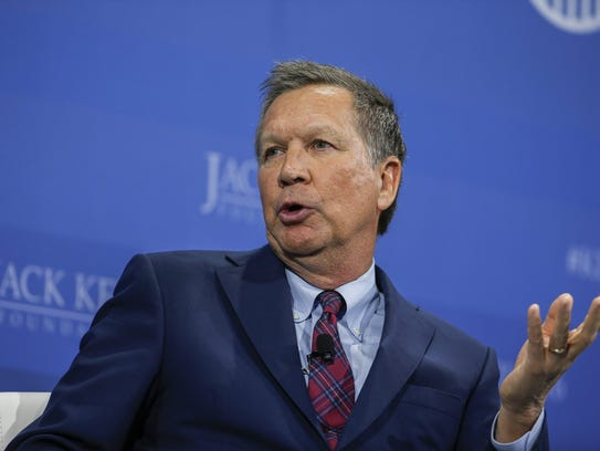 John Kasich  participates in the Kemp Forum on Expanding