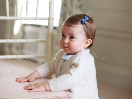 Princess Charlotte is ready for her close-up, in birthday