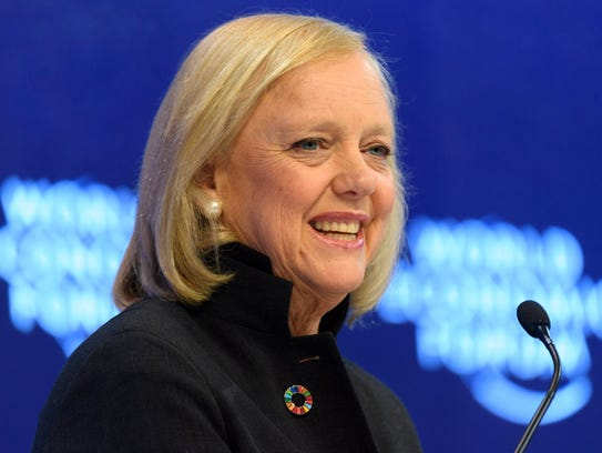 Meg Whitman, chairman and CEO of Hewlett-Packard speaks