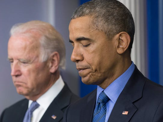 President Obama delivers remarks on the shooting deaths