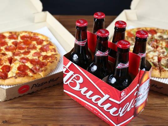 Pizza hut beer