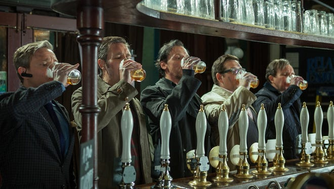 "The gang from 'The World's End' went through extensive ""drunk acting"" training to play the roles of five friends on an epic pub crawl."
