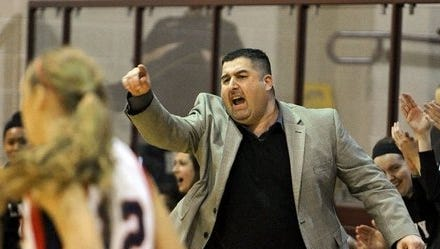 Former Rider coach Ramsey Ghazal has led his new team, the Glen Rose Lady Tigers, to the area round of the playoffs where they'll meet Burkburnett at 7 p.m. Thursday in Jacksboro.