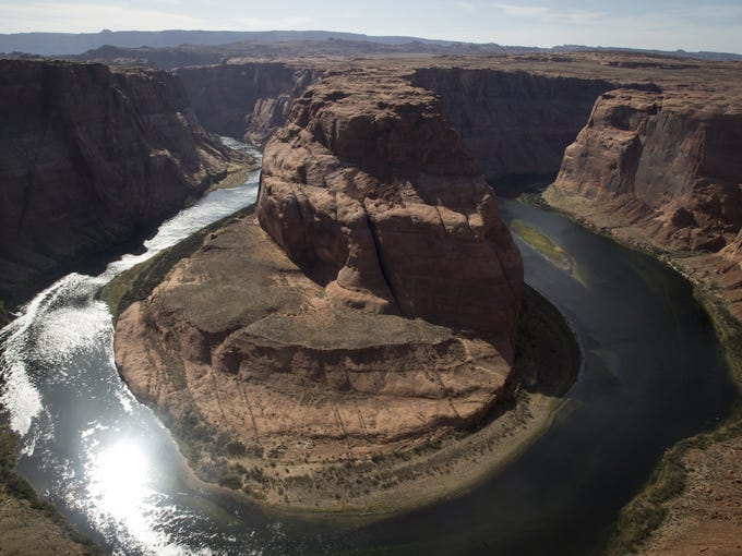 Horseshoe Bend, April 11, 2018, Glen Canyon National
