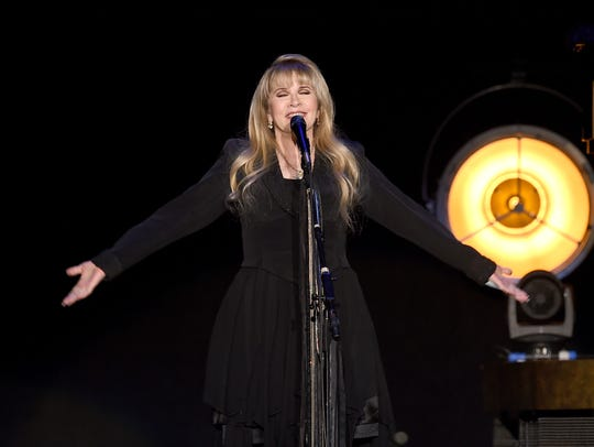Singer/songwriter Stevie Nicks performs in December