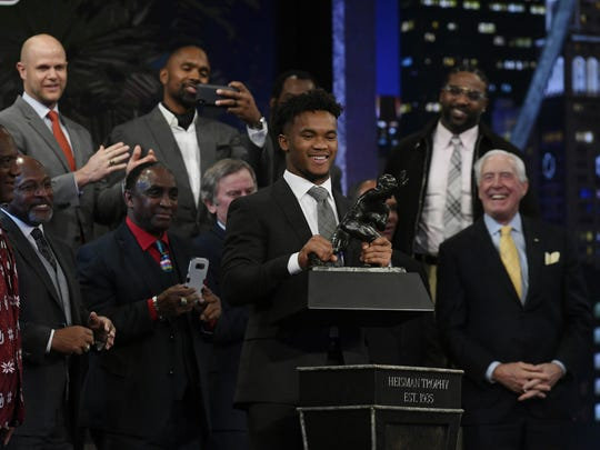 2018: Kyler Murray, University of Oklahoma.