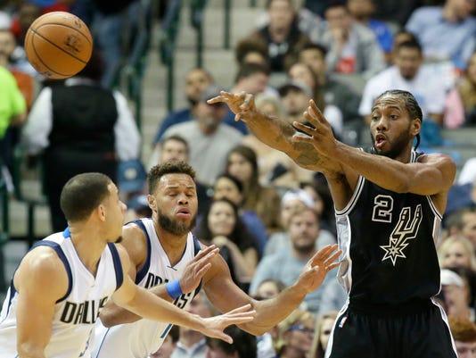 Spurs-Mavericks 11-30