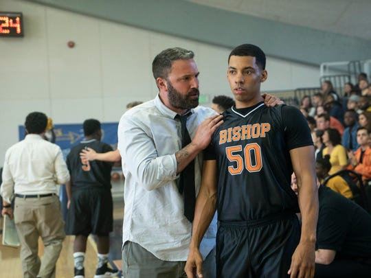 """Ben Affleck, left, and Brandon Wilson in a scene from """"The Way Back."""""""
