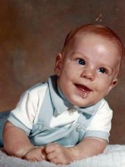 One of my favorite photos of baby Robby from 1975
