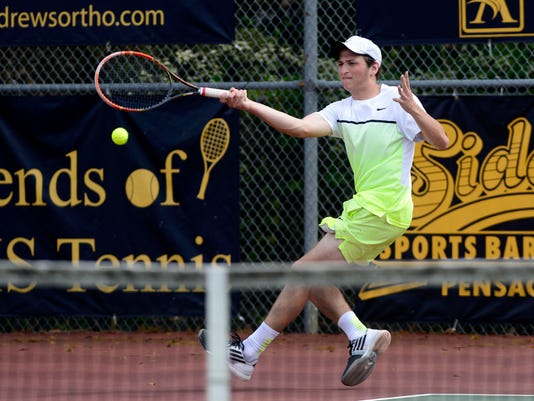 Gulf Breeze High School boys tennis