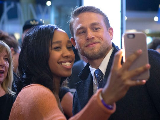 Charlie Hunnam is equipped for mega-fame, says director