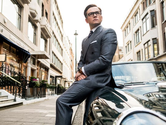 Taron Egerton stars in 'Kingsman: The Golden Circle.'