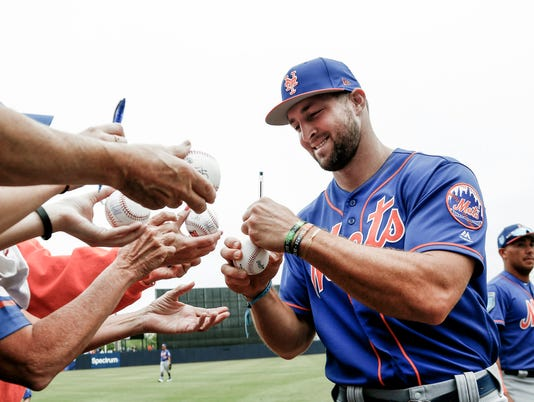 MLB: Spring Training-New York Mets at New York Yankees