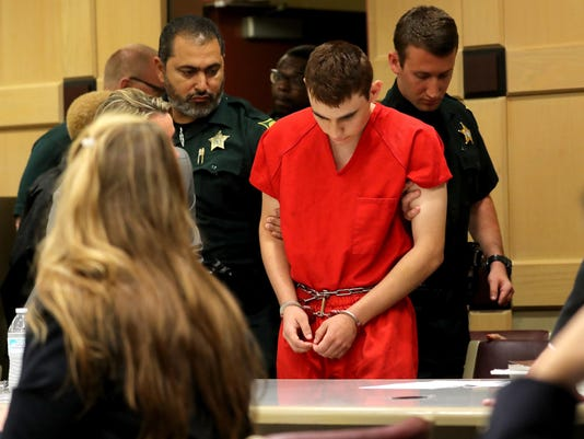 Nikolas Cruz appears in court