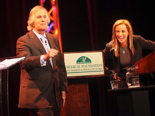 Award-winning actors Henry Winkler and Marlee Matlin were the 2011 keynote speakers for the annual benefit of the Medical Foundation of Marion & Polk Counties.