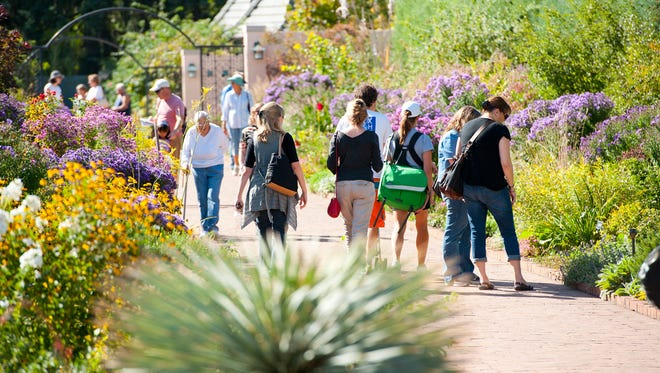 You have until Monday, March 31 at noon ET to vote for the Best Public Garden. Pictured here is the Denver Botanic Gardens.