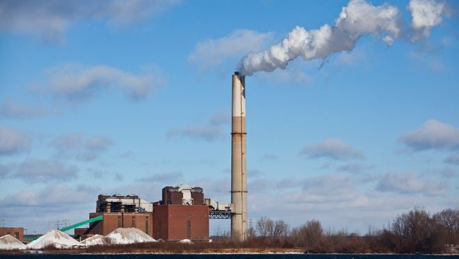 Most Americans say they want the U.S. government to reduce greenhouse gas emissions from power plants, a Stanford University analysis reveals Nov. 13, 2013. Consumer Energy's coal-fired B.C. Cobb Plant in Muskegon, Mich. is shown here on Dec. 13, 2010.