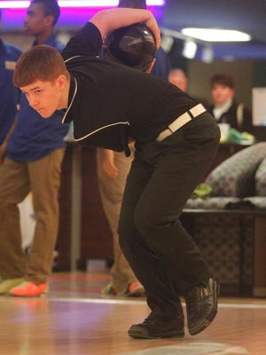 St. Xavier High School freshman Brandon Flora won the Ebonite/KHSAA Singles Bowling Championships on Thursday.