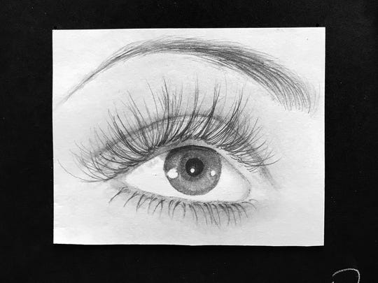 """Eye"" by Joshua Talingo Garcia, 11th Grade, Orosi High"