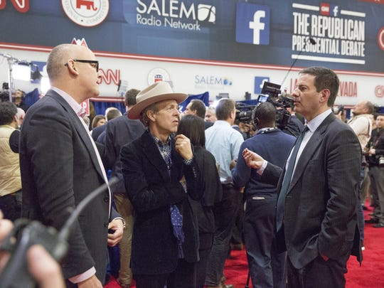 "Political veterans John Heilemann, Mark McKinnon and Mark Halperin co-star in Showtime's ""The Circus: Inside the Greatest Political Show on Earth."""