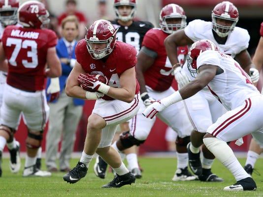 NCAA Football: Alabama Spring Game