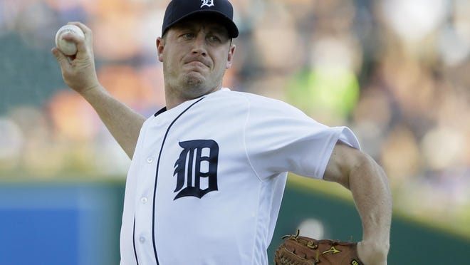Jordan Zimmermann went on the disabled list Aug. 5 after re-aggravating a right neck strain. He is 9-5 with a 4.44 ERA in 16 starts.