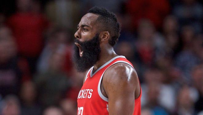 Houston Rockets guard James Harden can play basketball.