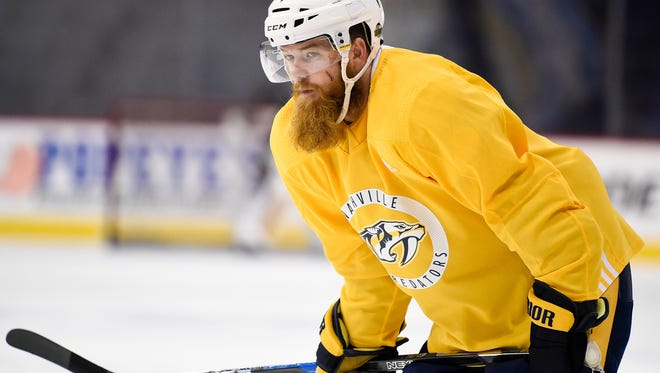 Defenseman Ryan Ellis posted 32 points in 44 games despite not beginning his season until Jan. 2 because of knee surgery last summer.