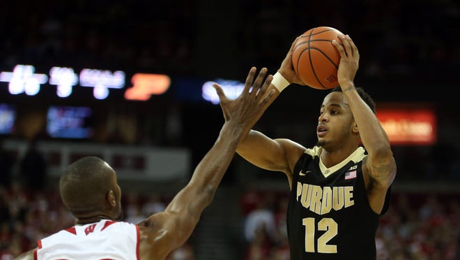 Forward Vince Edwards and the Boilers will look for offensive improvement.