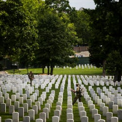 What will Arlington cemetery look like in 25 years?