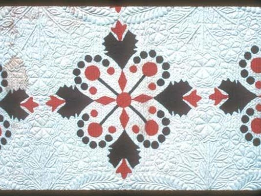 Jobs Trouble quilter Lizzie Burks 1885 Ruth Co