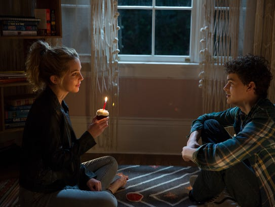"""Jessica Rothe and Israel Broussard star in """"Happy Death"""