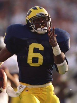 Former Michigan running back Tyrone Wheatley