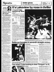 Battle Creek Sports History: Week of Jan. 19, 1987
